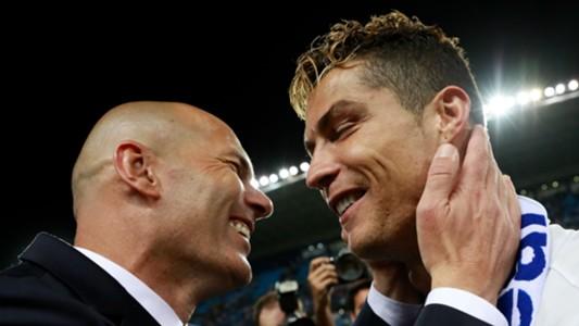"""Image result for ฟังซีดานตอบนักข่าว """"คุณกับโรนัลโด้ใครเก่งกว่ากัน?"""""""