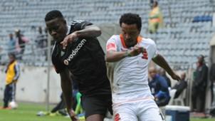 Ntsikelelo Nyauza and Tlou Segolela - Pirates v Polokwane City