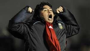Diego Maradona Uruguay Argentina 2009