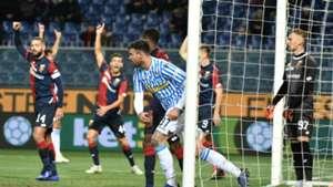 Andrea Petagna Genoa SPAL