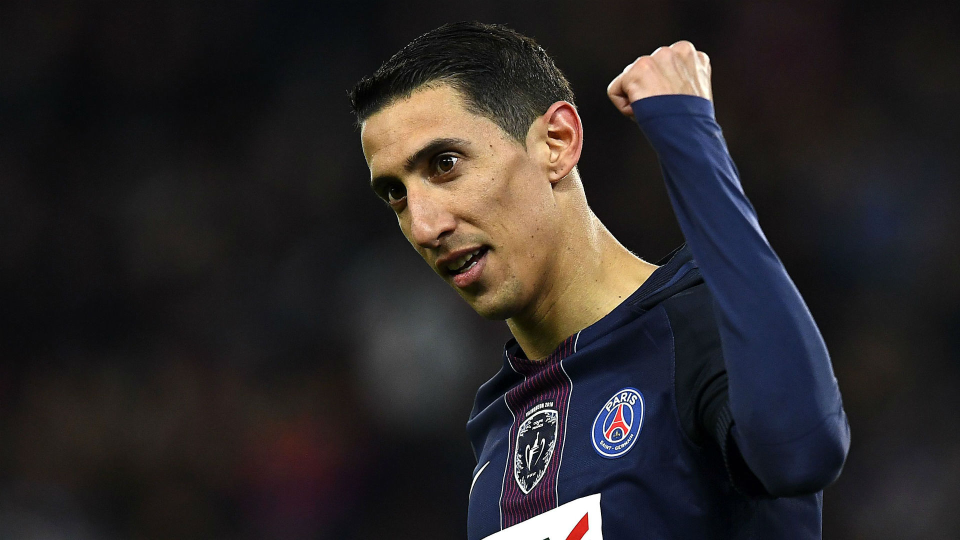 Angel Di Maria PSG Monaco Coupe de France 26042017