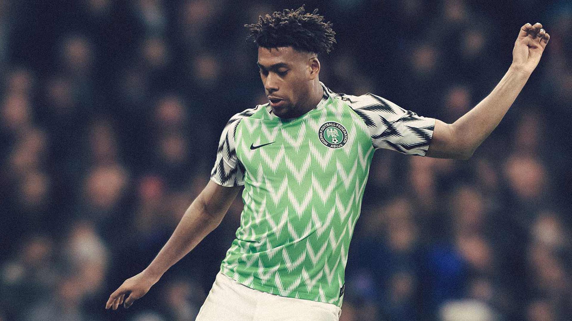 Nigeria Camiseta Titular Home Jersey 2018