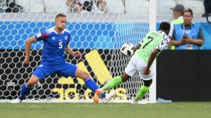 Ahmed Musa Nigeria Iceland World Cup