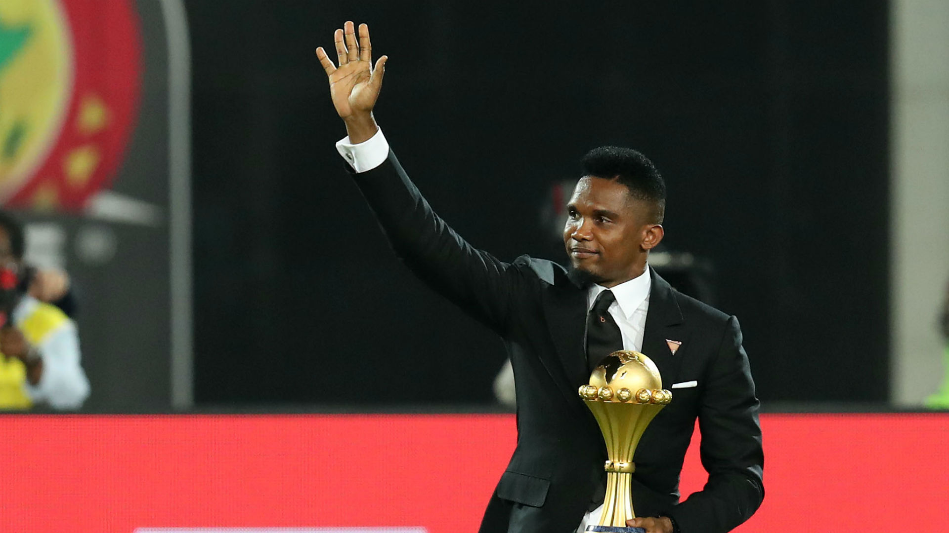 Image result for images of Samuel Eto'o retires from football at 38