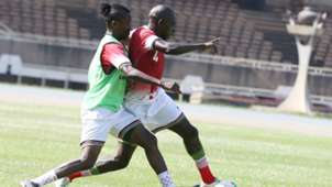 Francis Kahata v Joash Onyango of Kenya and Harambee Stars.