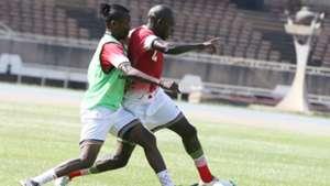 Francis Kahata v Joash Onyango of Kenya and Harambee Stars.