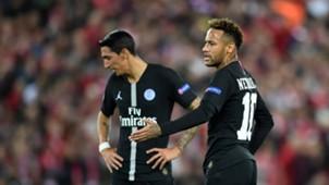 Neymar Angel Di Maria PSG Liverpool