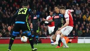 Aaron Ramsey Arsenal Napoli 11042019