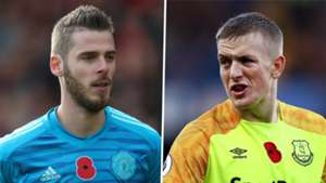 David De Gea Man Utd Jordan Pickford Everton 2018