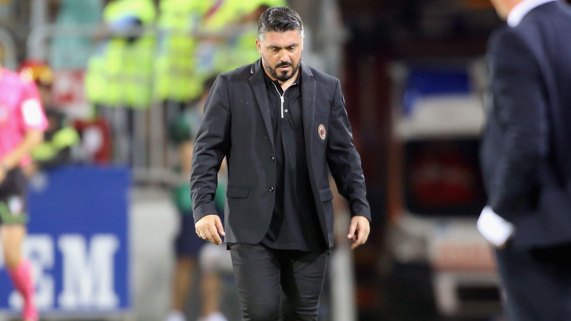 Gennaro Gattuso Cagliari Milan