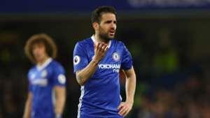 Cesc Fabregas Chelsea 2017