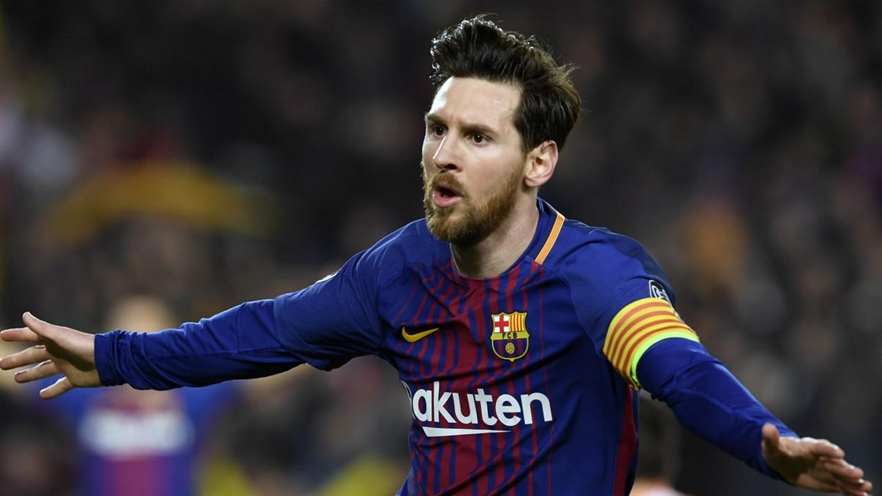 Un hat-trick de Messi permet au Barça d'atteindre un record historique