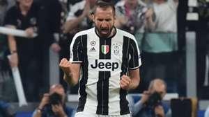 Giorgio Chiellini Juventus Barcellona Champions League