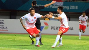 Alberto Goncalves & Stefano Lilipaly - Indonesia U-23 Asian Games