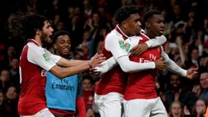 Eddie Nketiah Arsenal 2017