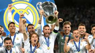 Real Madrid Champions League trophy 2018