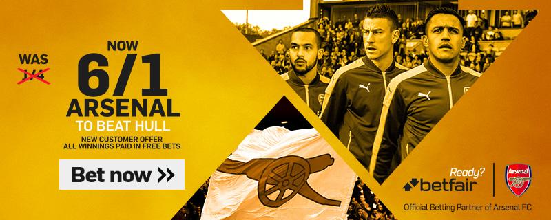 GFX Arsenal Hull enhanced betting