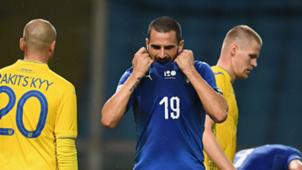 Leonardo Bonucci Italy Ukraine 2018