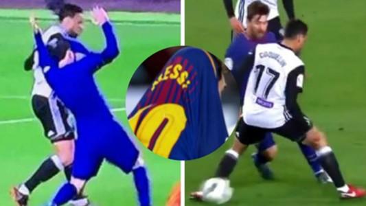 Messi Coquelin Valencia Barcelona