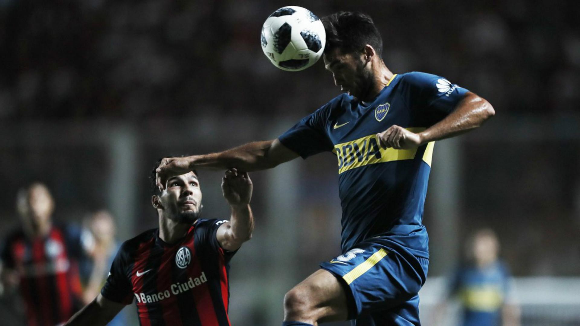 Emmanuel Mas Gabriel Rojas San Lorenzo Boca Superliga Argentina 04022018