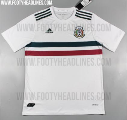 Playeras México Confederaciones