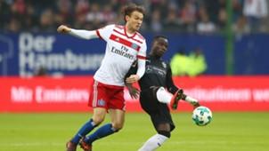 Hamburg Stuttgart Bundesliga Ekdal Akolo 04112017