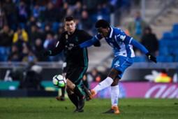 Carlos Sánchez Espanyol - Real Madrid La Liga 2018