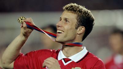 Ronny Johnsen Manchester United Champions League 1999