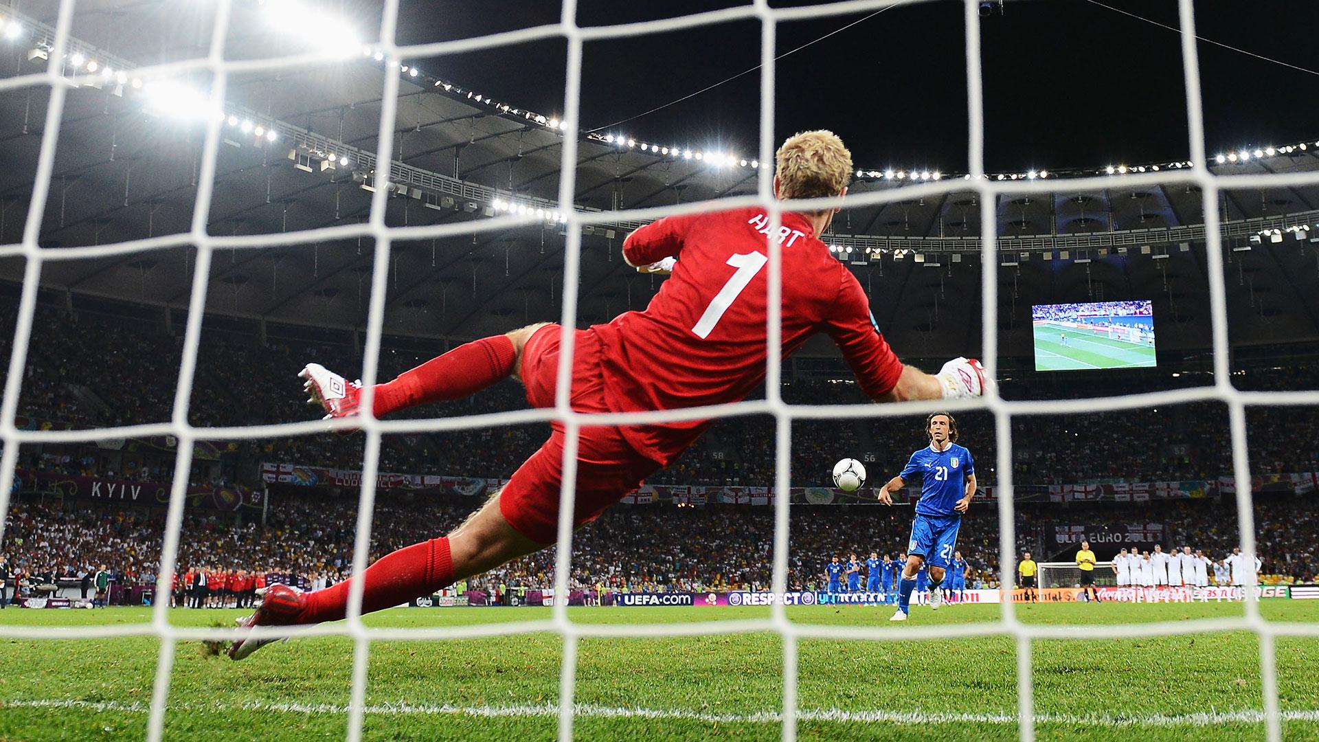 Andrea Pirlo Italy England Euro 2012