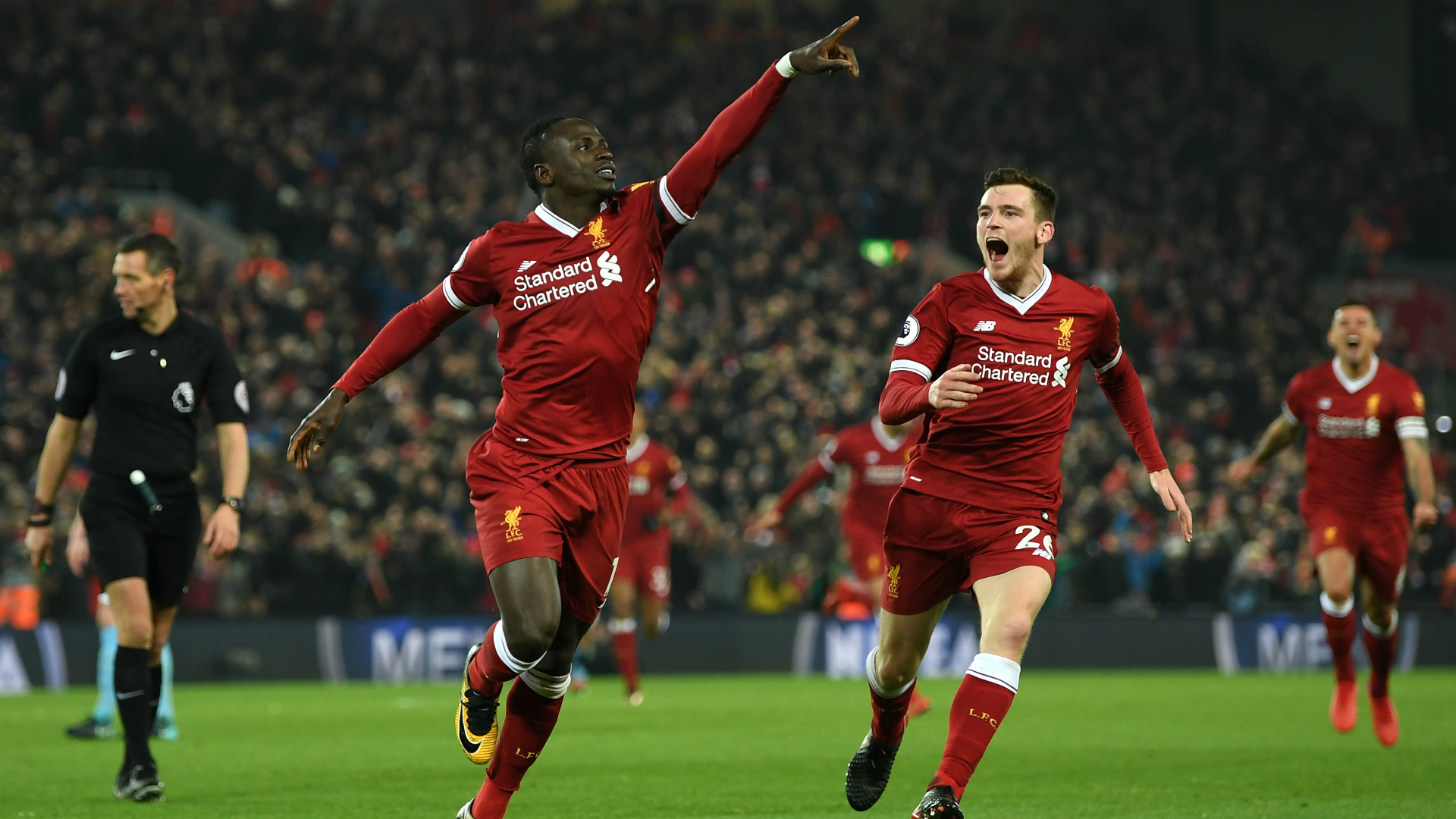 Sadio Mane Liverpool Manchester City | 29032018