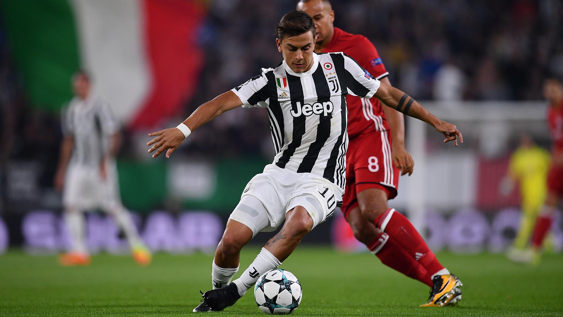 Paulo Dybala Juventus Olympiacos Champions League
