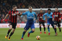 Jan 14 Bournemout - Arsenal Wilshere
