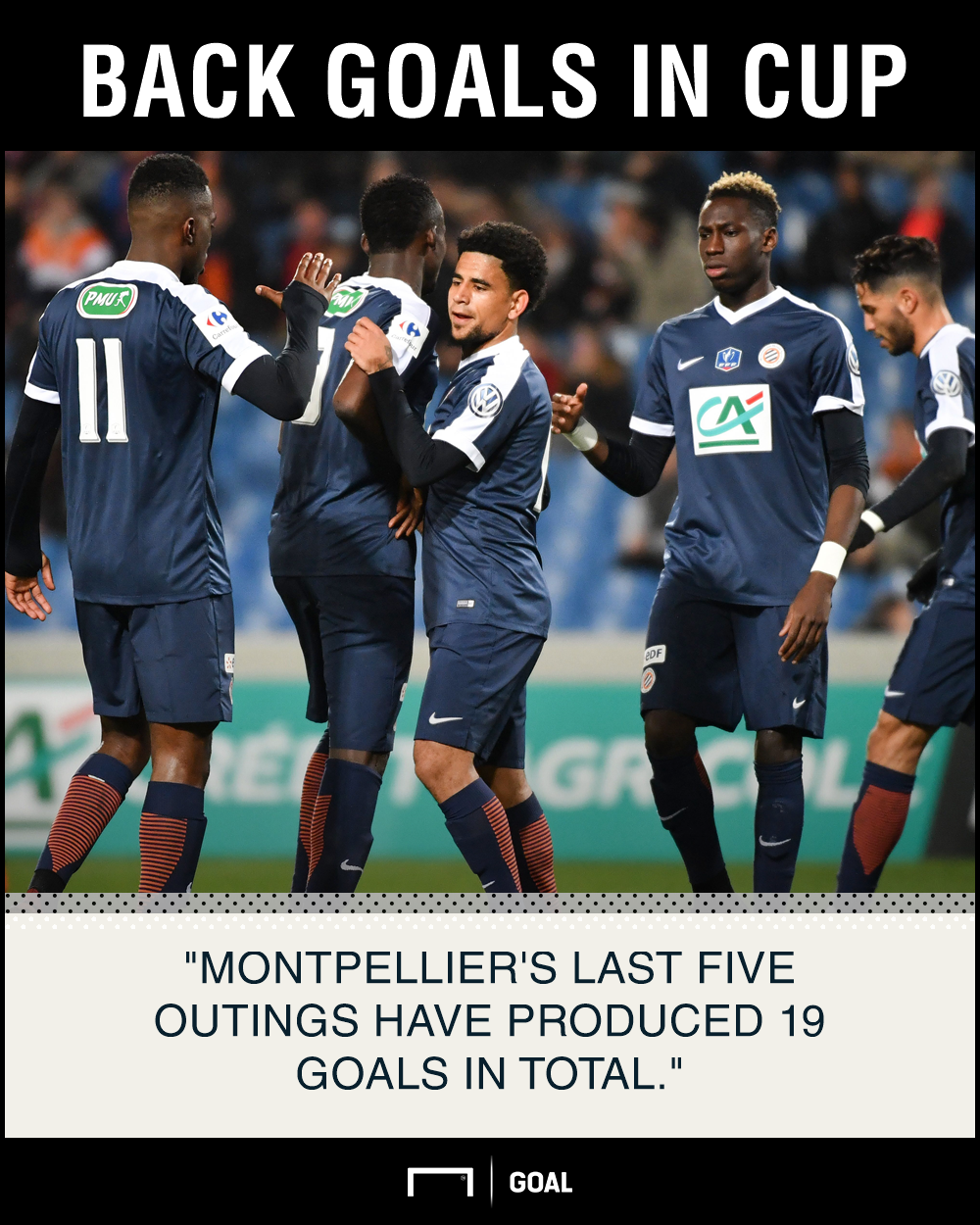 Montpellier Lyon graphic
