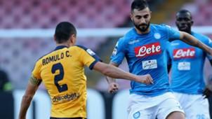 Albiol Romulo Napoli Verona Serie A