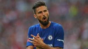 Olivier Giroud Chelsea 2017-18