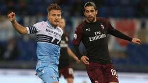Ciro Immobile Ricardo Rodriguez Lazio Milan