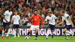 Isco Alarcon Inglaterra España England Spain Nations League 08092018