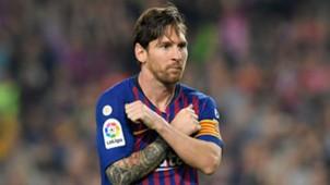 Lionel Messi Barcelona Sevilla La Liga 20102018