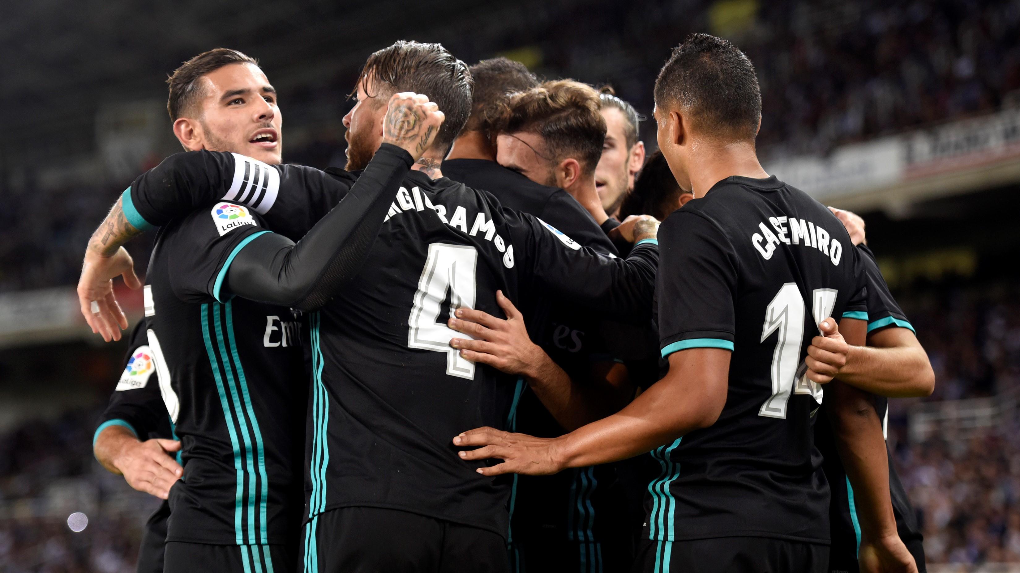 Liga - Il Real Madrid torna a vincere: battuta 1-3 la Real Sociedad