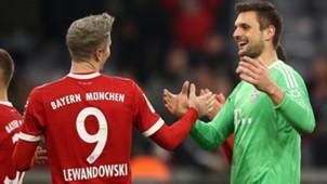 Sven Ulreich Robert Lewandowski FC Bayern