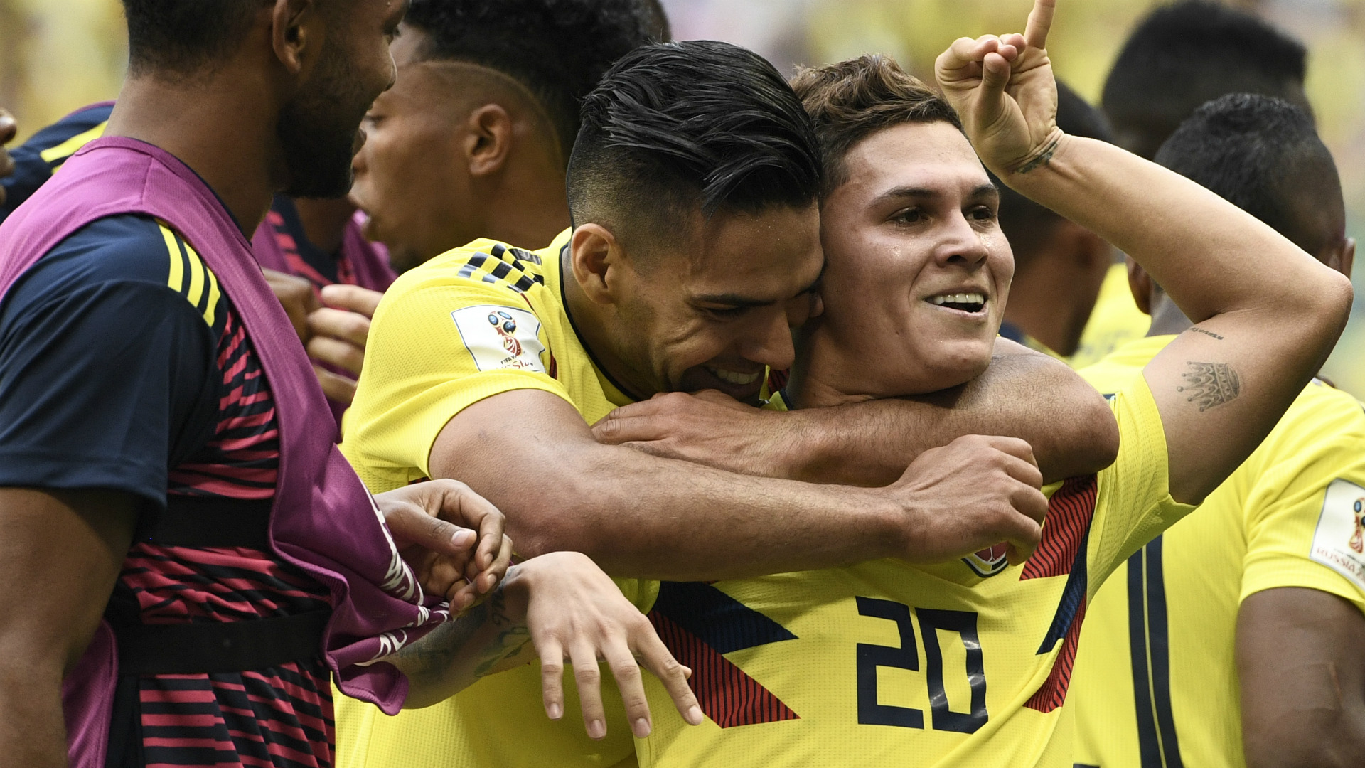 Falcao Quintero Colombia Japon WC Russia 19062018