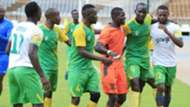 Kariobangi Sharks striker George Abege celebrates.j