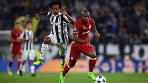 Juan Cuadrado Juventus Olympiacos Champions League