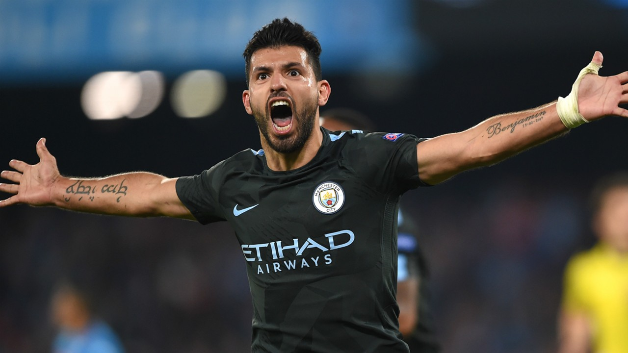 Sergio Aguero be es Manchester City s all time leading
