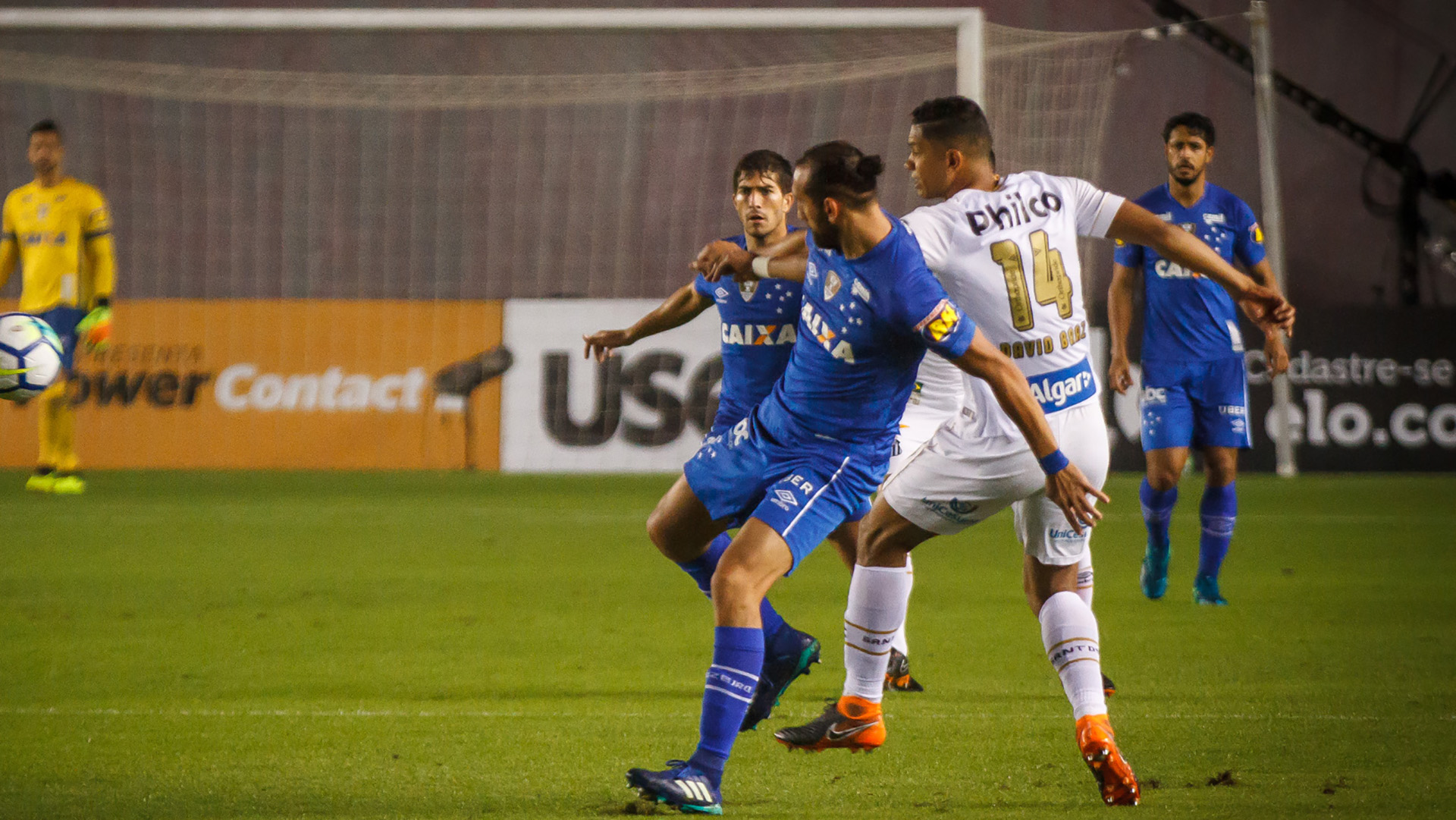 Hernan Barcos David Braz Santos Cruzeiro Copa do Brasil 01082018