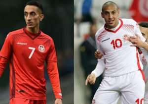 Am Montag startet Tunesien in die WM 2018, bekommt es mit Mitfavorit England zu tun. Goal schaut auf die zehn wertvollsten Tunesier im Kader für das Turnier in Russland. (Quelle: transfermarkt.de)