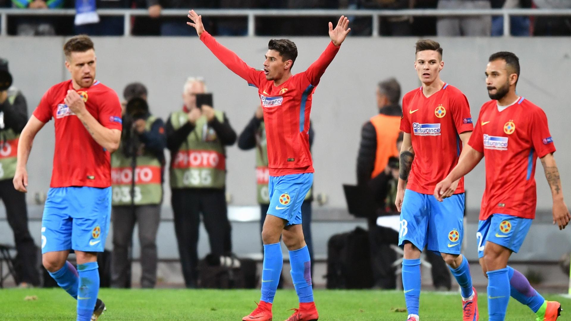 Florinel Coman Steaua UEFA Europa League