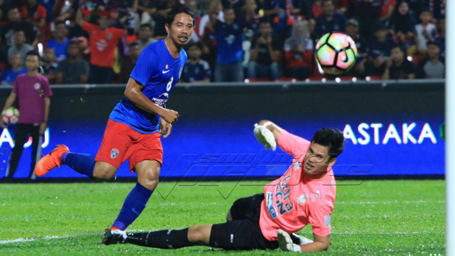 Safiq Rahim, Johor Darul Ta'zim, Melaka United, Super League, 09/04/2017