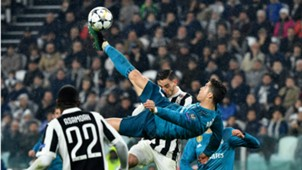 Cristiano Ronaldo Real Madrid Juventus UEFA Champions League Bicycle kick