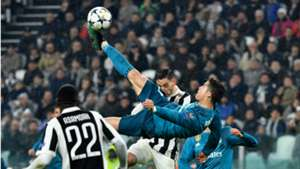 Cristiano Ronaldo Real Madrid Juventus UEFA Champions League Bicycle kick